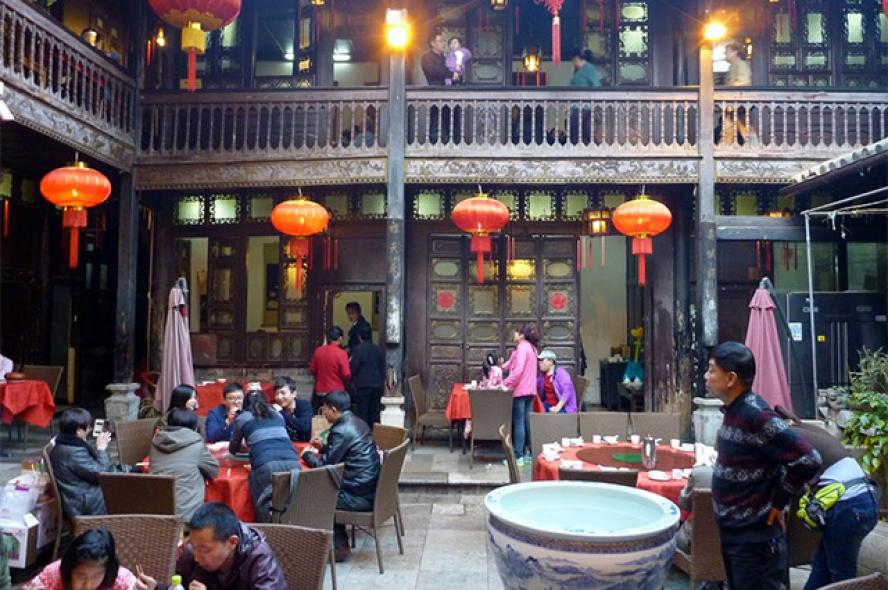 Restaurant in Kunming, China